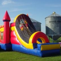 Rainbow Bounce Castle