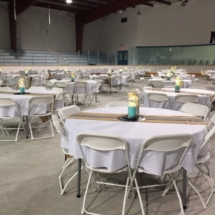 Tables and chairs rental from Rent'Em From Rossy