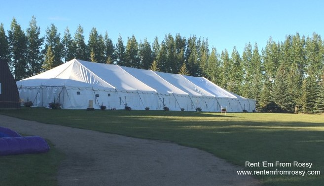 Party Tent Rental - Rent'Em From Rossy